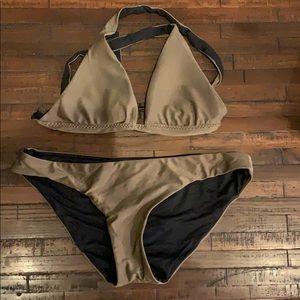 BECCA by Rebecca Virtue reversible bikini